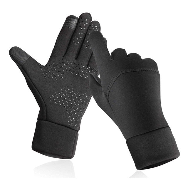 Touch Screen Gloves Windproof Ski Cycling Thicken Fleece Warm Sports Outdoor Gloves