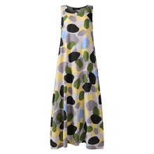 Load image into Gallery viewer, ZANZEA Elegant Summer Maxi Dress Printed Sundress