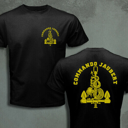 French Special Forces Navy Frogmen UDT Commando Marine Jaubert Men T-shirt