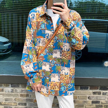 Load image into Gallery viewer, Men's Clothing Long Sleeve Male Shirt Loose French Cuff Mens Shirts Camisa Social Masculina Plus Big Size M-5XL