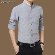 Load image into Gallery viewer, N&B Shirt Mens Business Dress Shirts Men Shirt French Cuff Fashion Top