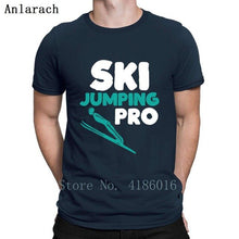 Load image into Gallery viewer, Ski Jumping Pro Sportsmen T Shirt Natural Designs New Style Tee Shirt Spring Size S-5xl Sunlight Male Shirt