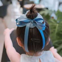 Load image into Gallery viewer, Girl Princess Wind Sweet Versatile Hair Cord French Solid Color Tie Hair Cord Fairy Hair