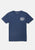 Deus Navy Milano Address T-shirt