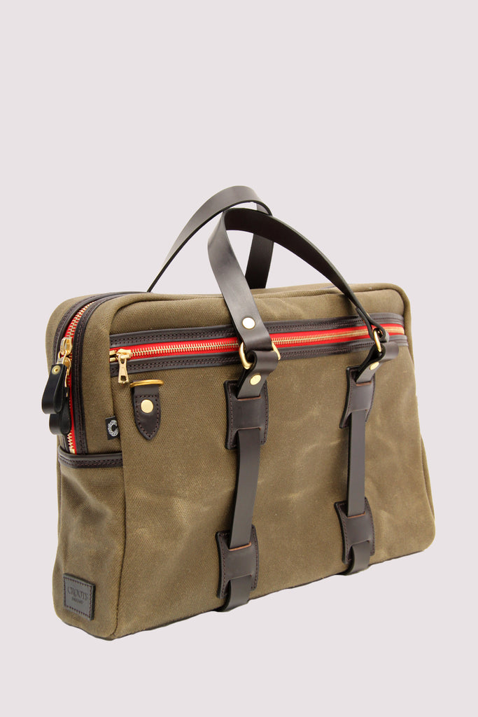 Croots Green Laptop Bag