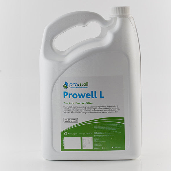 Prowell L Probiotic Feed Additive (Reg.No. V26076 (Act 36 of 1947))