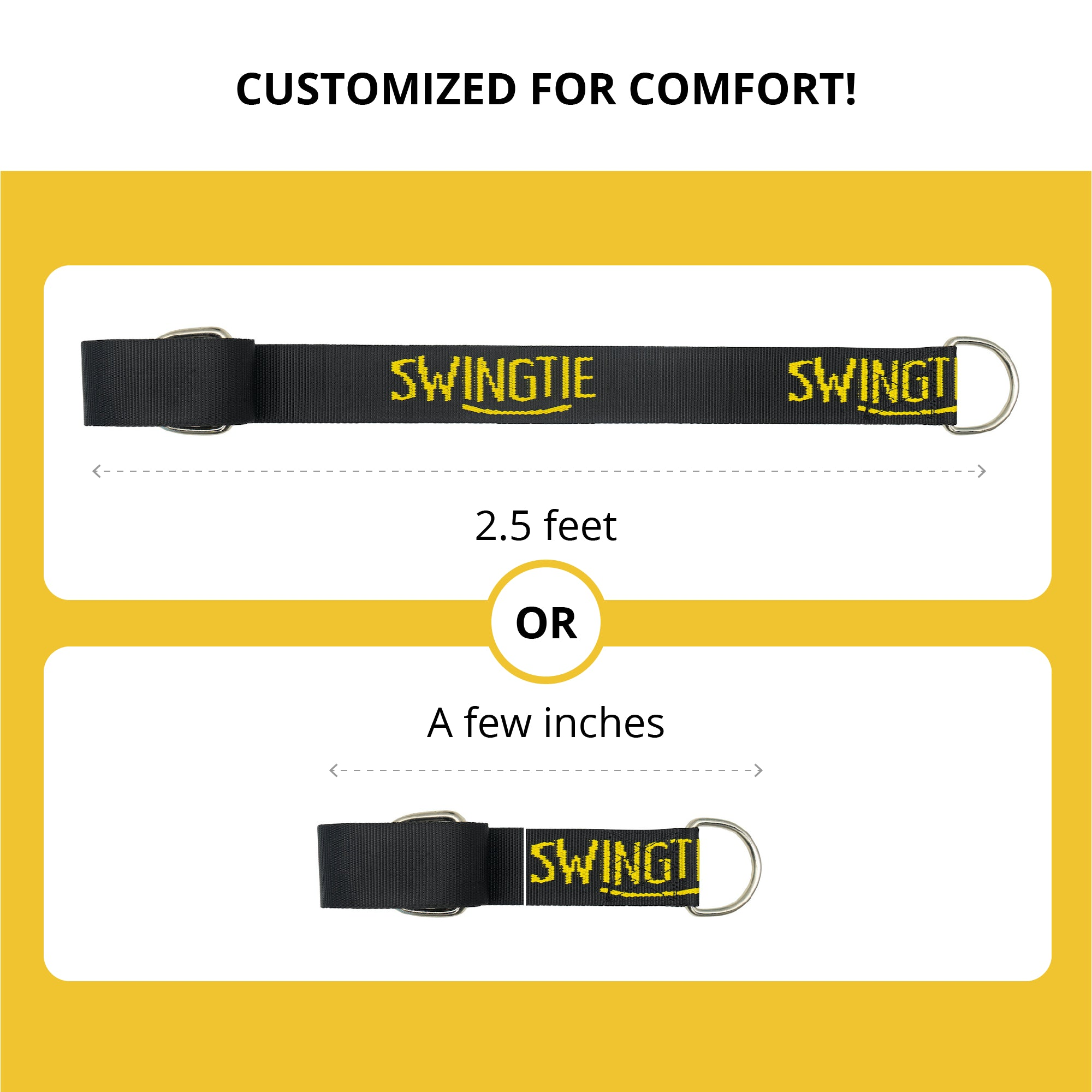 SwingTie - Tree Swing Hanger