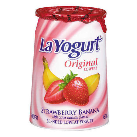 Yogurt, Original Strawberry Banana