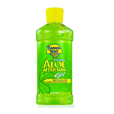 Soothing Aloe After Sun Gel, Green, Banana Boat