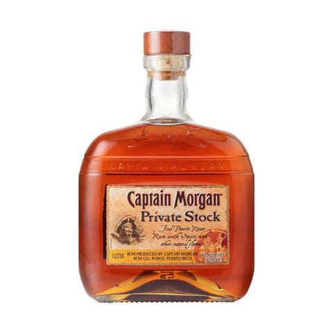 Captain Morgan Spiced Rum, Private Stock