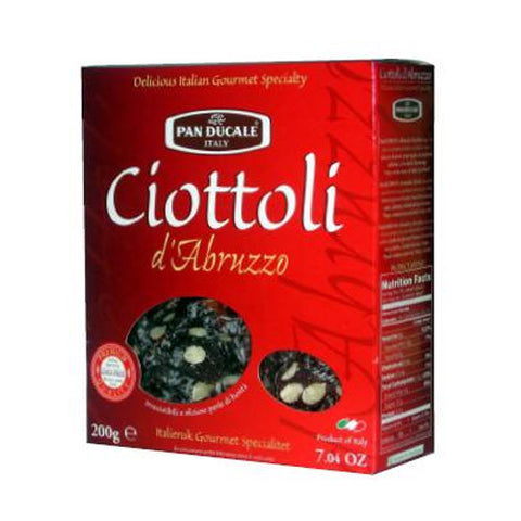 Ciottoli, Chocolate and Almond Slices with Coconut
