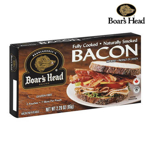 Bacon, fully cooked, Boar's Head