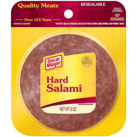 Salami, Hard, Oscar Mayer