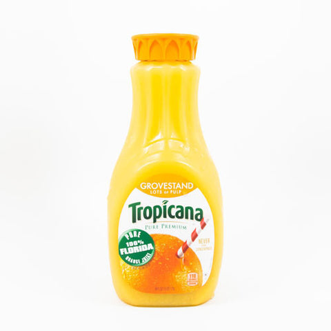 Orange Juice, Tropicana, Lots of Pulp