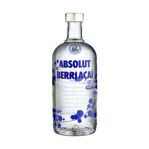 Absolut Vodka, Blueberry Acai