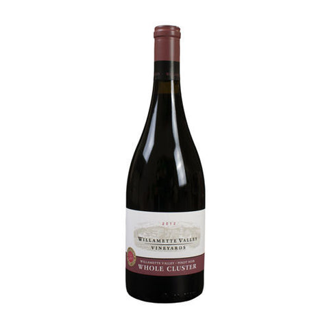 Willamette Valley Pinot Noir, Whole Cluster