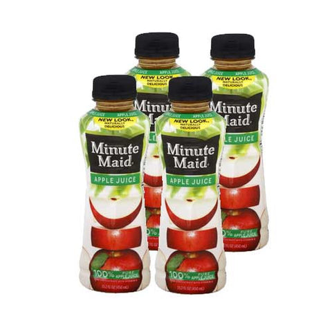 Apple Juice Minute Maid, 15.2 oz