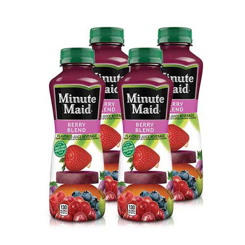 Berry Blend Juice Minute Maid, 15.2 oz