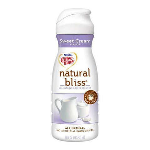 Creamer, Nestle Bliss, All Natural, Sweet Cream