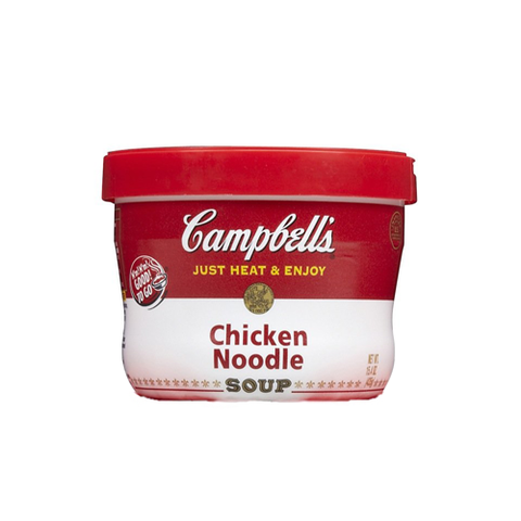 Soup, Chicken Noodle, Campbell's microwavable bowl