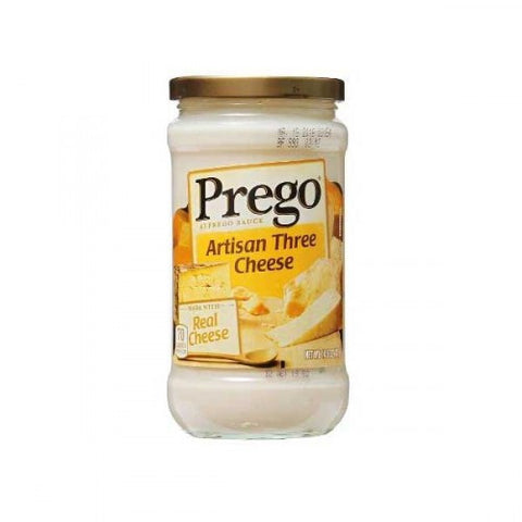 Alfredo Sauce, Artisan Three Cheese, Prego