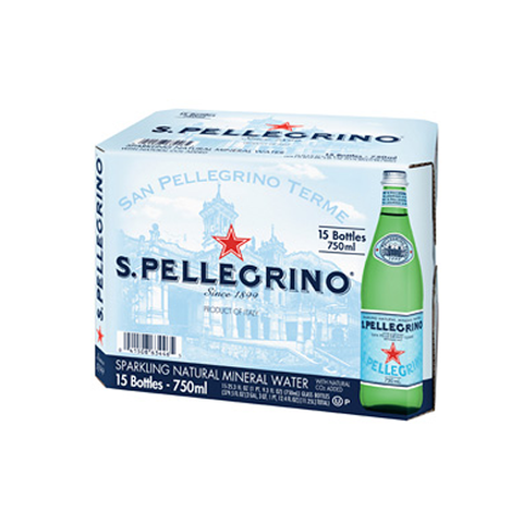 Pellegrino, 1 ltr Bottles, case of 15