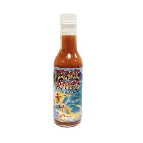 Hot Sauce, Locally Made, Heat Wave Pineapple