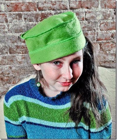 Fashionable, 'Little' Fleece Hats, by Carol Mier
