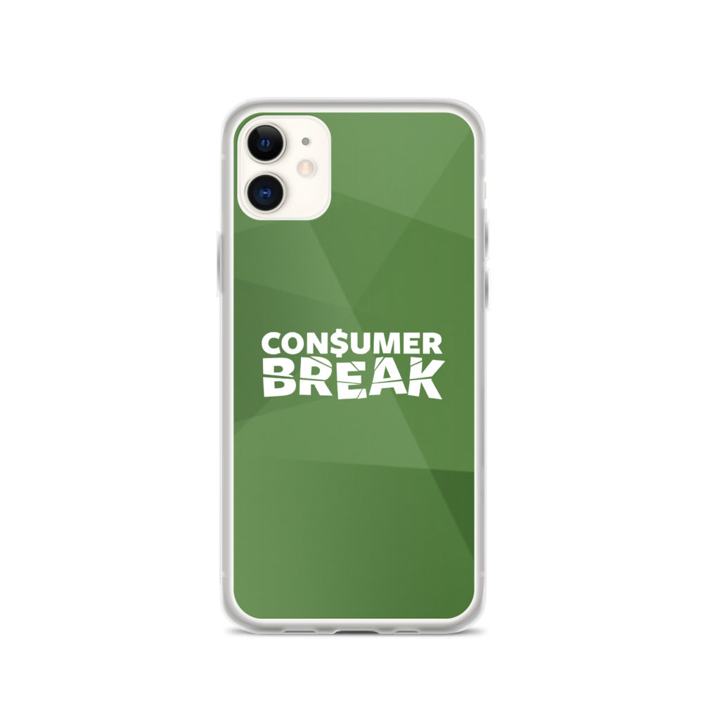 Green ConsumerBreak® iPhone Case