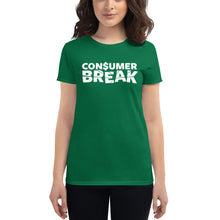 Load image into Gallery viewer, ConsumerBreak® Logo Women's Tee