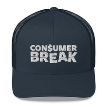 Load image into Gallery viewer, ConsumerBreak® Logo Mesh Back Hat