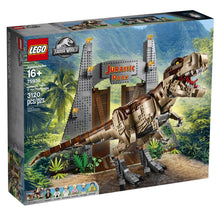 Load image into Gallery viewer, LEGO Jurassic World Jurassic Park: T. rex Rampage 75936 Toy Building Kit (3120 Piece)