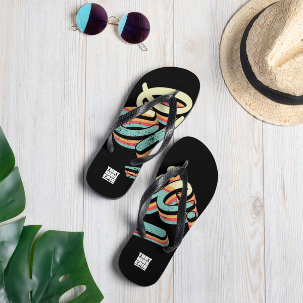 Epic Retro Flip-Flops Black