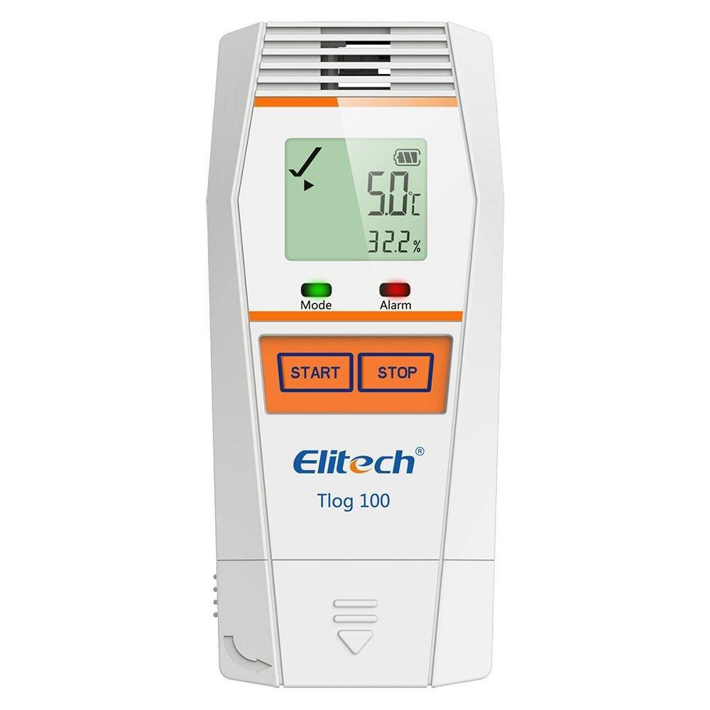 Elitech Tlog 100 Series Temperature and Humidity Data Logger with External Sensor - Elitech Technology, Inc.