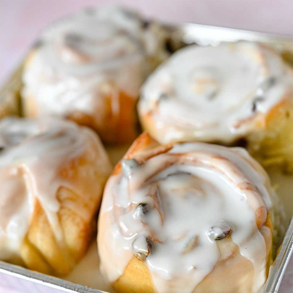 Cinnamon rolls (sold by the pack)