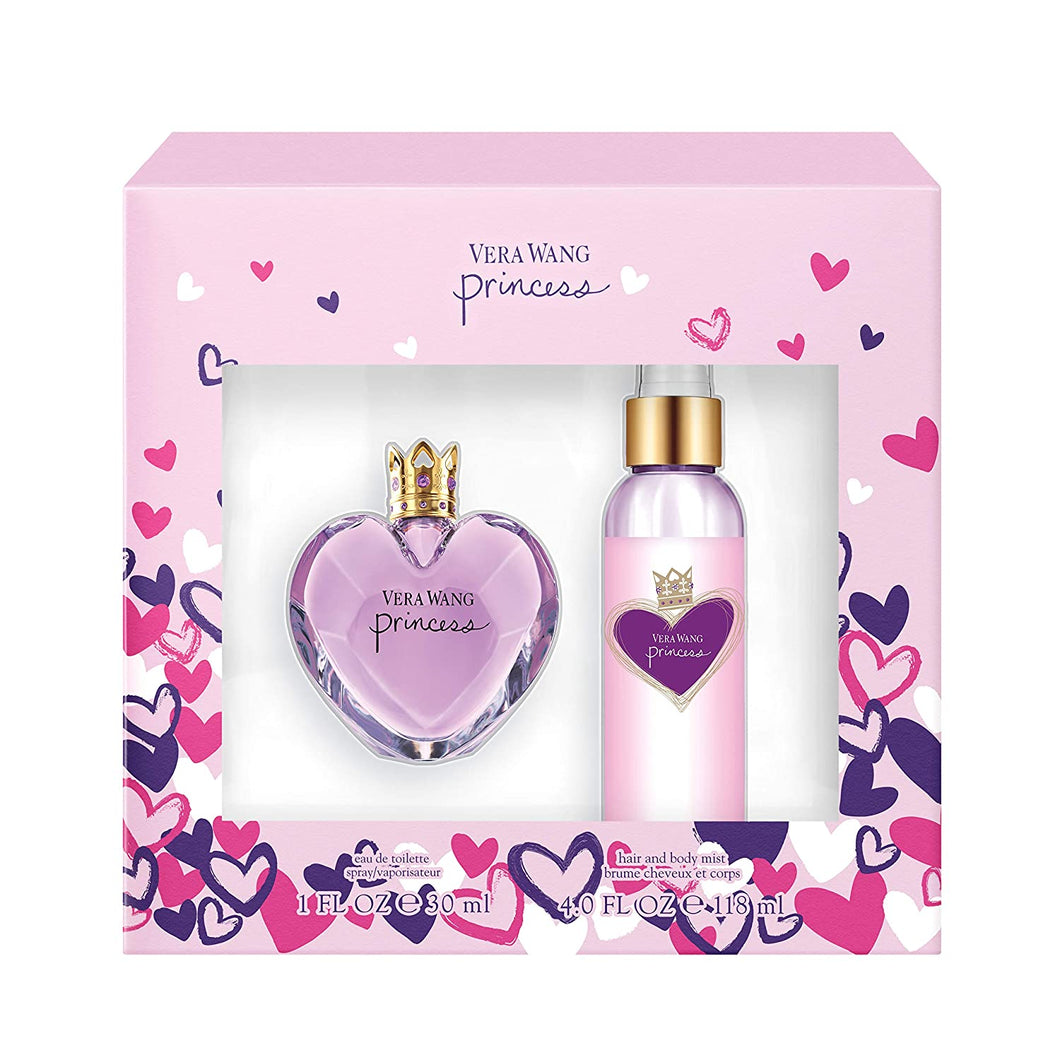 Set - Vera Wang Princess 30ml Edt Spr + 120ml Body Mist (W)