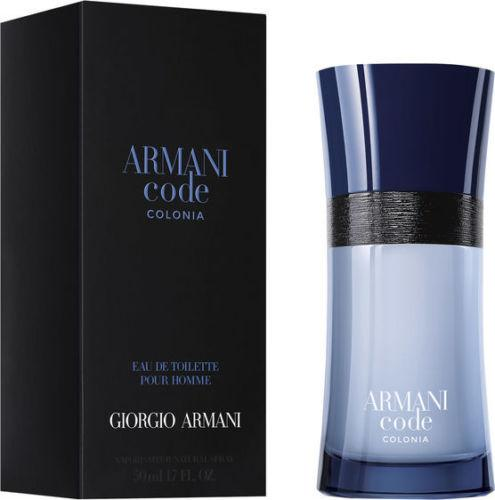 Armani Code Colonia 50ml Edt Spr (M)