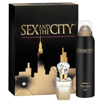 Set - Sex And The City 30ml Edp Spr + 150ml B/S