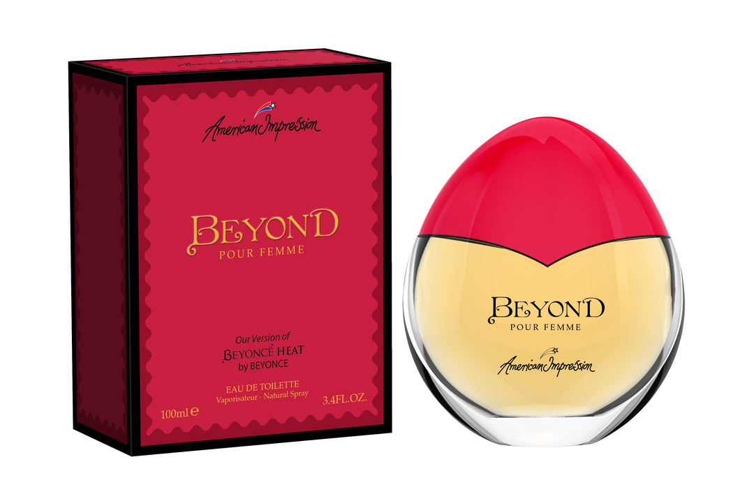 AI Beyond 100ml Edt Spr (Impression of Beyonce Heat)- (DAMAGE)