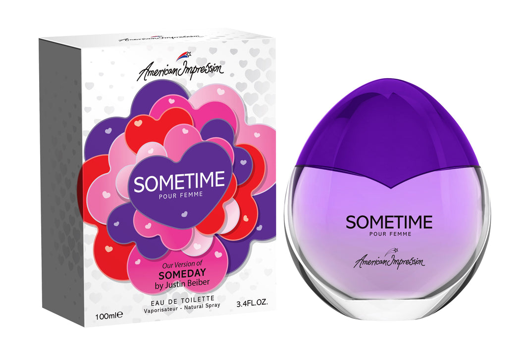 AI Sometime 100ml Edt Spr (Impression of Someday by Justin Bieber)- (DAMAGE)