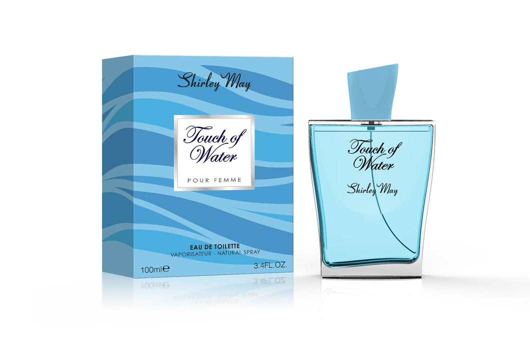 Shirley May Touch of Water 828 100ml Edt (W)
