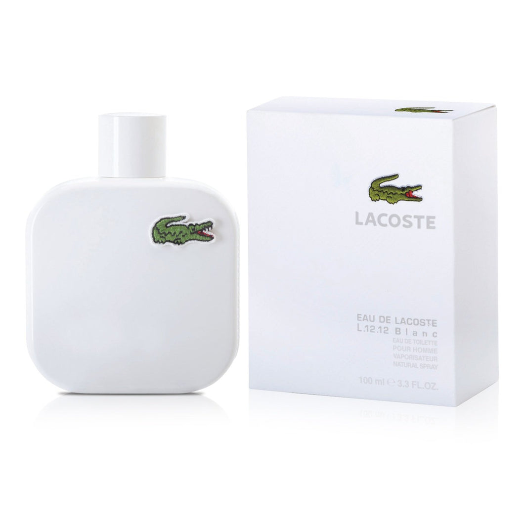 Lacoste L.12.12 Blanc 100ml Edt Spr (Pure) (M)