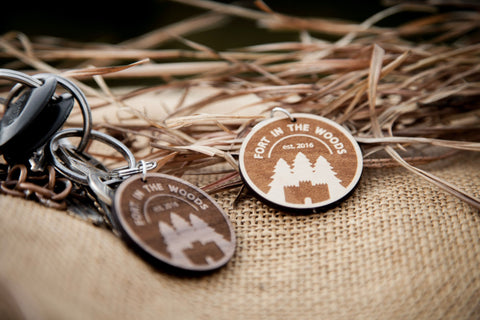 Fort in the Woods Key Chain