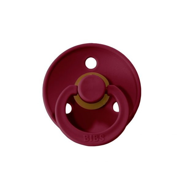 BIBS Pacifier- Ruby Red (6-18m)