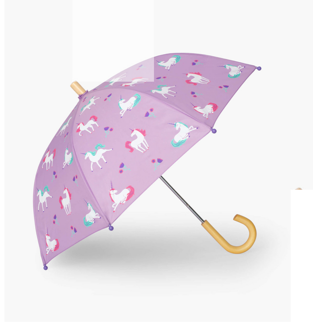 Hatley Playful Unicorns Umbrella