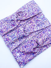 Load image into Gallery viewer, PREORDER Lilac Faux Glitter Headband