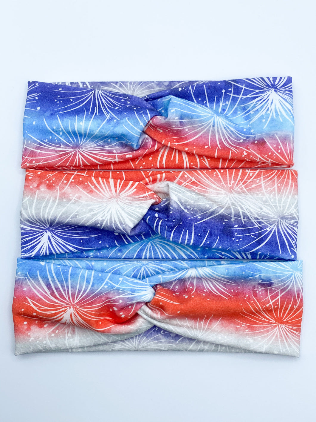 PREORDER Red, White, & Blue Fireworks Headband