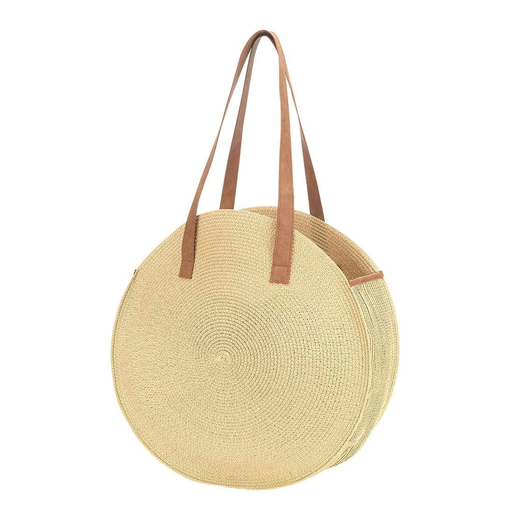 Natural Bungalow Tote