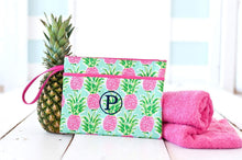 Load image into Gallery viewer, Sweet Paradise Zip Pouch Wristlet