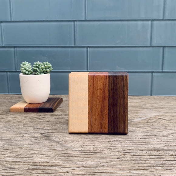 Hardwood Coasters - Set of 4